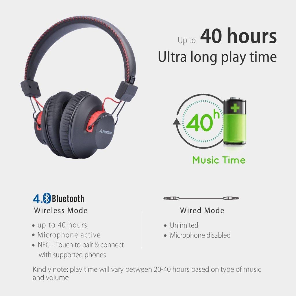 Avantree Audition Bluetooth Headphones - Review - Pros - Cons