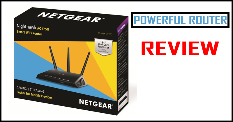 Router Netgear Nighthawk AC1750 - Review