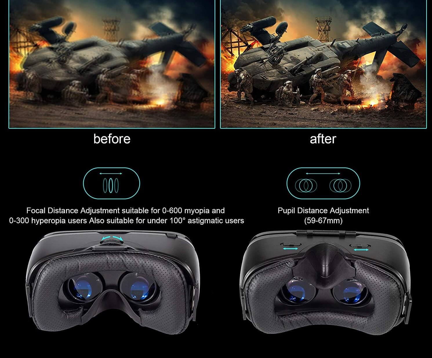 GEARSONE VR Headset Full Review With Pros And Cons
